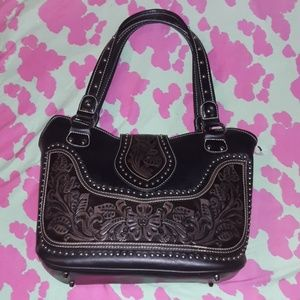 Montana West Concealed Carry Western Style Purse